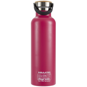 360° degrees Vacuum Insulated Drinkfles 750ml roze